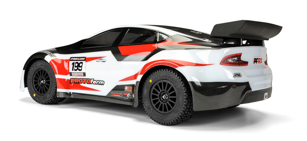 PROTOform PFRX Rallycross, Traxxas Rally, Associated ProRally, 1:10 Short-course Truck