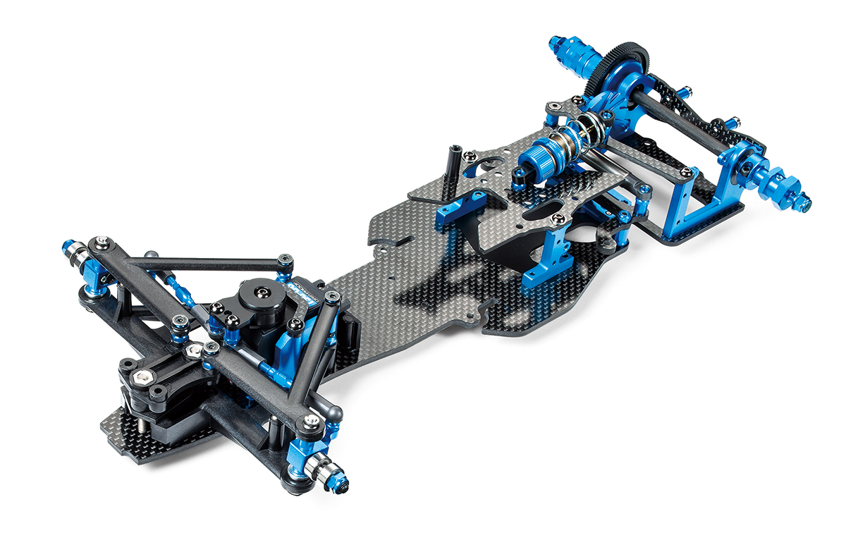 Trf: Tamiya Unveils New TRF 2WD Buggy And F1 Chassis Kits