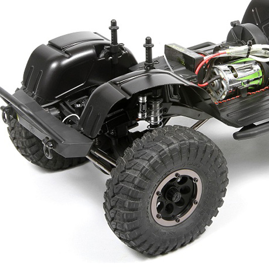 Axial's New Wheel Wells Add More Realism To Your SCX10