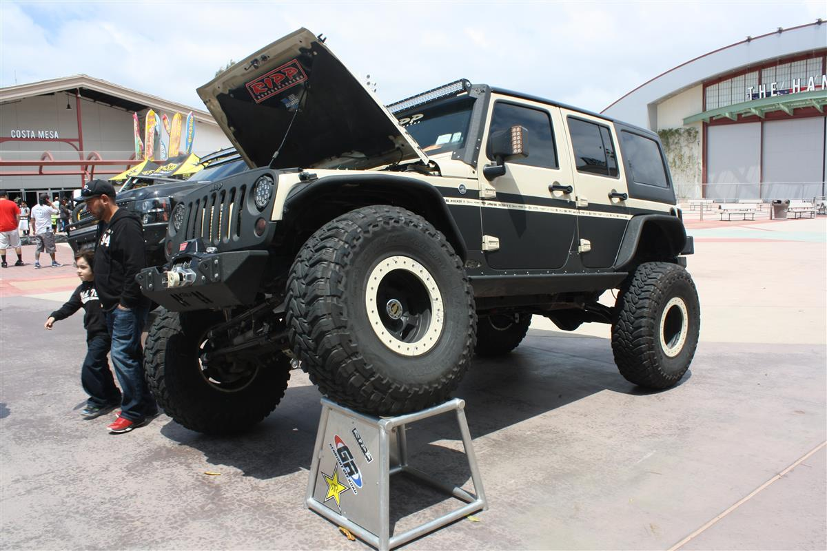 RCX 2015 Full-size car display