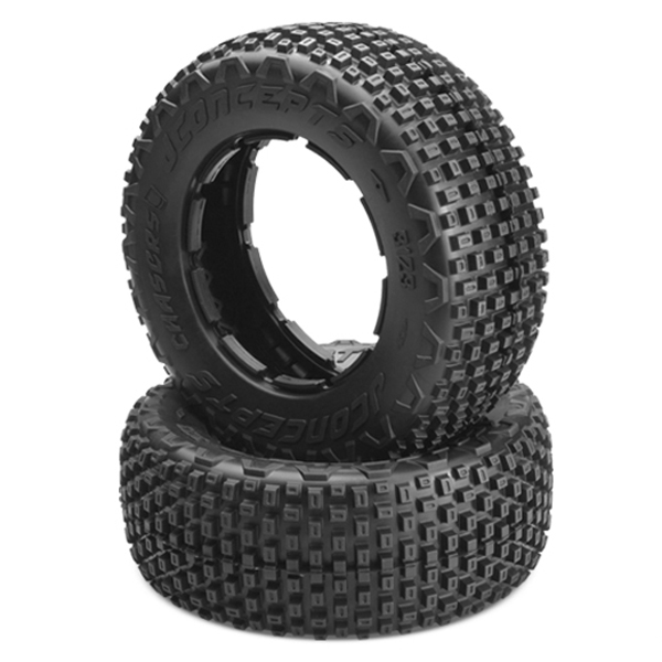 "JConcepts Goes 1/5-scale Racing With New ""Chasers"" Tire"
