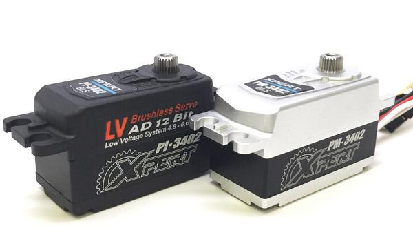 PI3402 & PM3402 servos