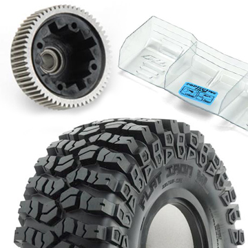 Pro-Line Announces Tons of New Gear: Wheels, Tires, Tuning Parts, Apparel…
