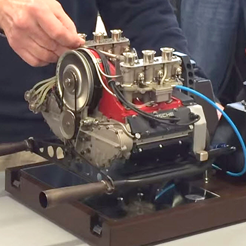 Functional 1/3 Scale Porsche Engine Sounds Awesome, Just Needs Rest of Porsche [VIDEO]