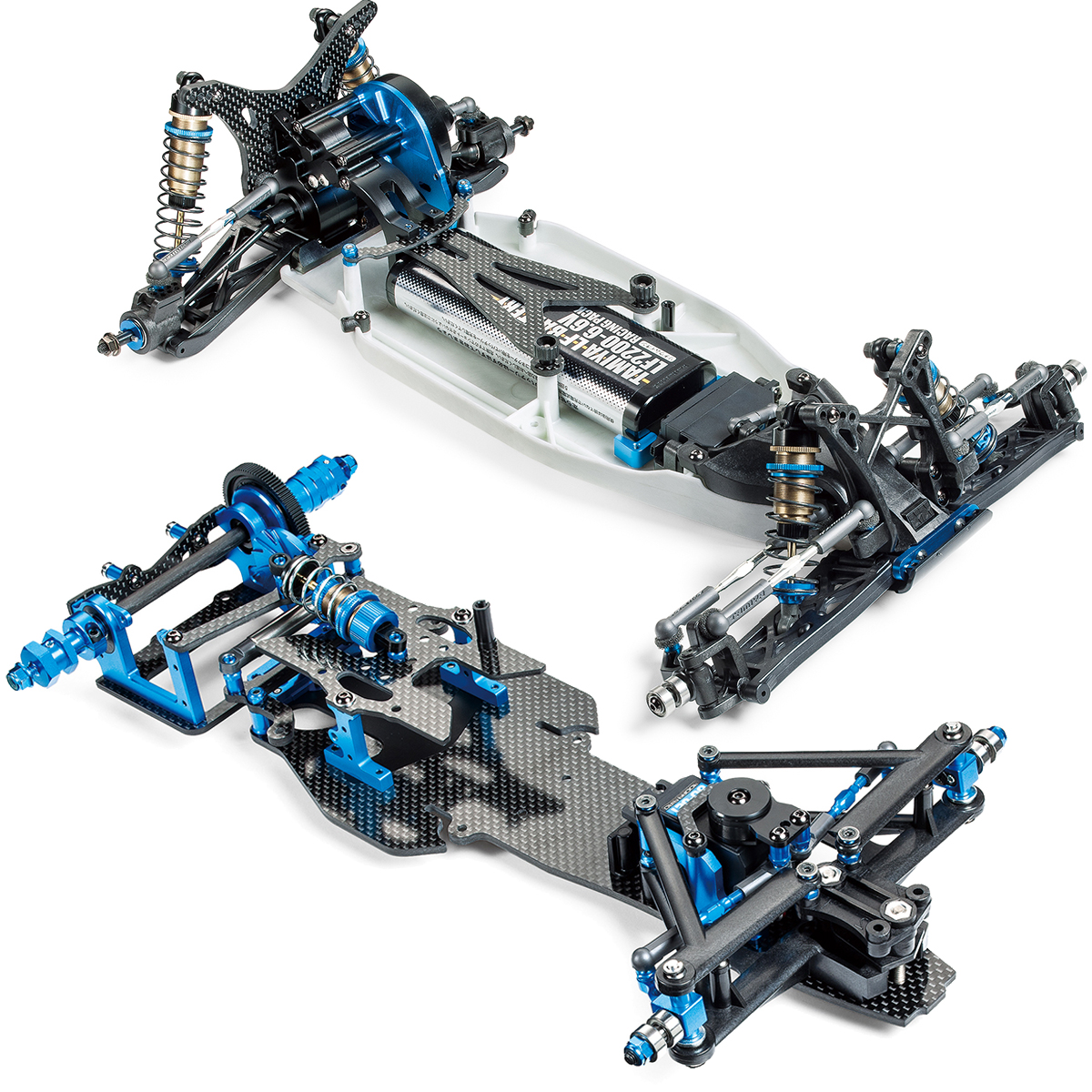 Tamiya Unveils New TRF 2WD Buggy and F1 Chassis Kits