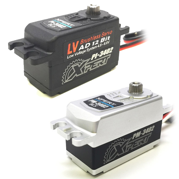 Xpert Announces New Low-Profile Servos