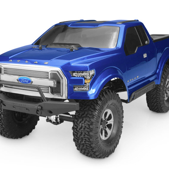JConcepts Ford Atlas Now Available For 1.9 Inch Rigs