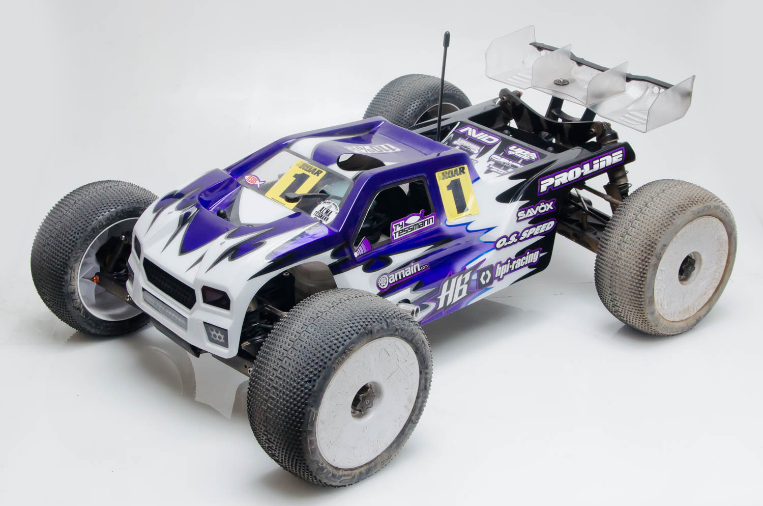 ROAR 1/8 Nitro Off-Road Nats: Inside Ty Tessmann's Rides