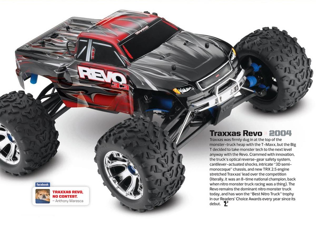 Greatest RC Trucks of all Time, radio control, rc car, Traxxas Revo