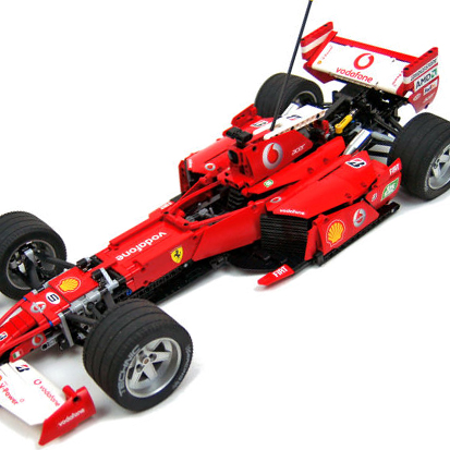 This RC Lego F1 Build Will Blow Your Mind [VIDEO]
