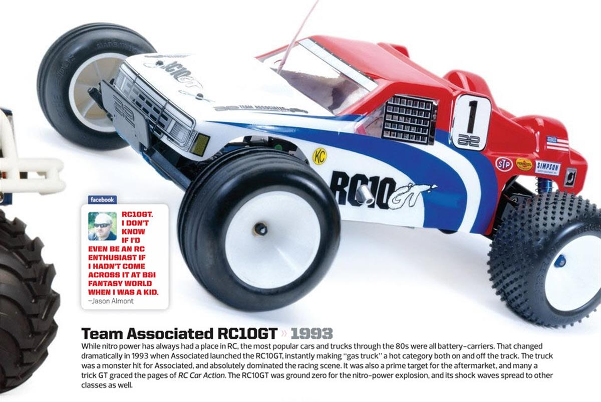 Greatest RC Trucks of all Time, radio control, rc car, Team Associated RC10GT