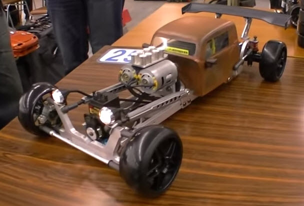 Wild Rat Rod Drift Ride Who Built It Video Rc Car Action