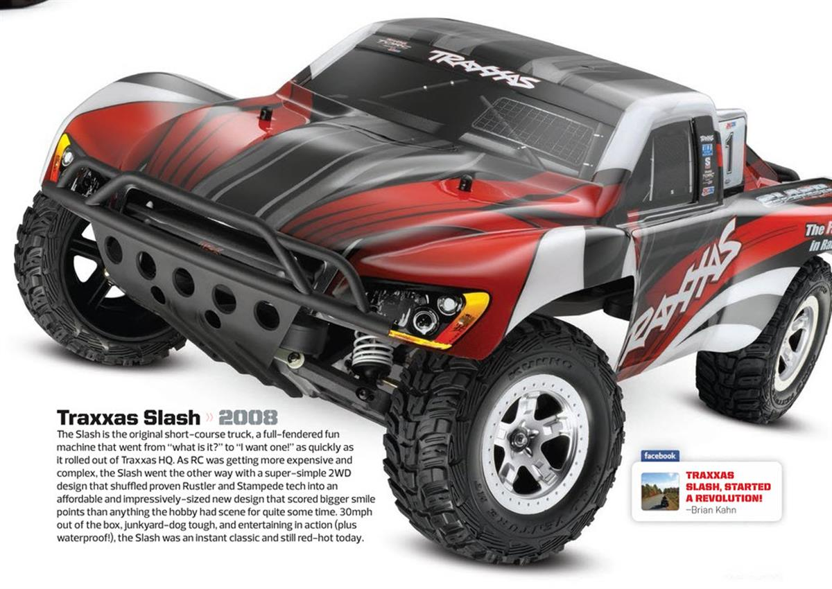 Greatest RC Trucks of all Time, radio control, rc car, Traxxas Slash