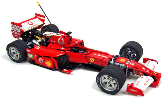 Lego F1 Radio Controlled Car
