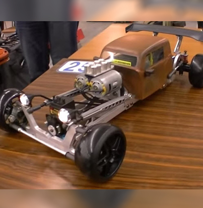 Wild Rat-Rod Drift Ride–Who Built It? [VIDEO]