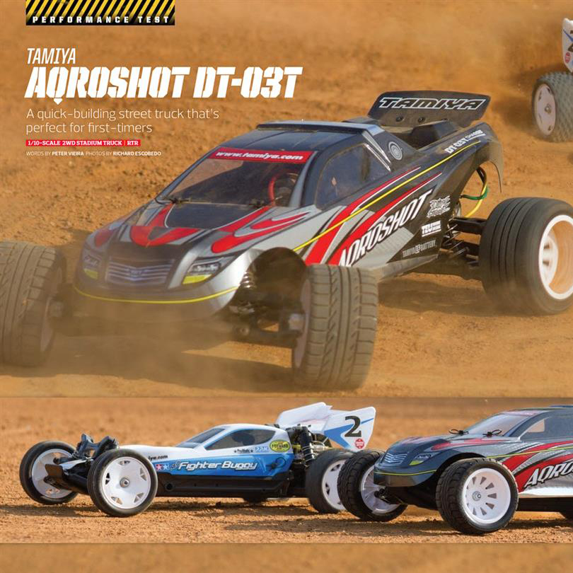 Tamiya Aqroshot & Neo Fighter XB Review