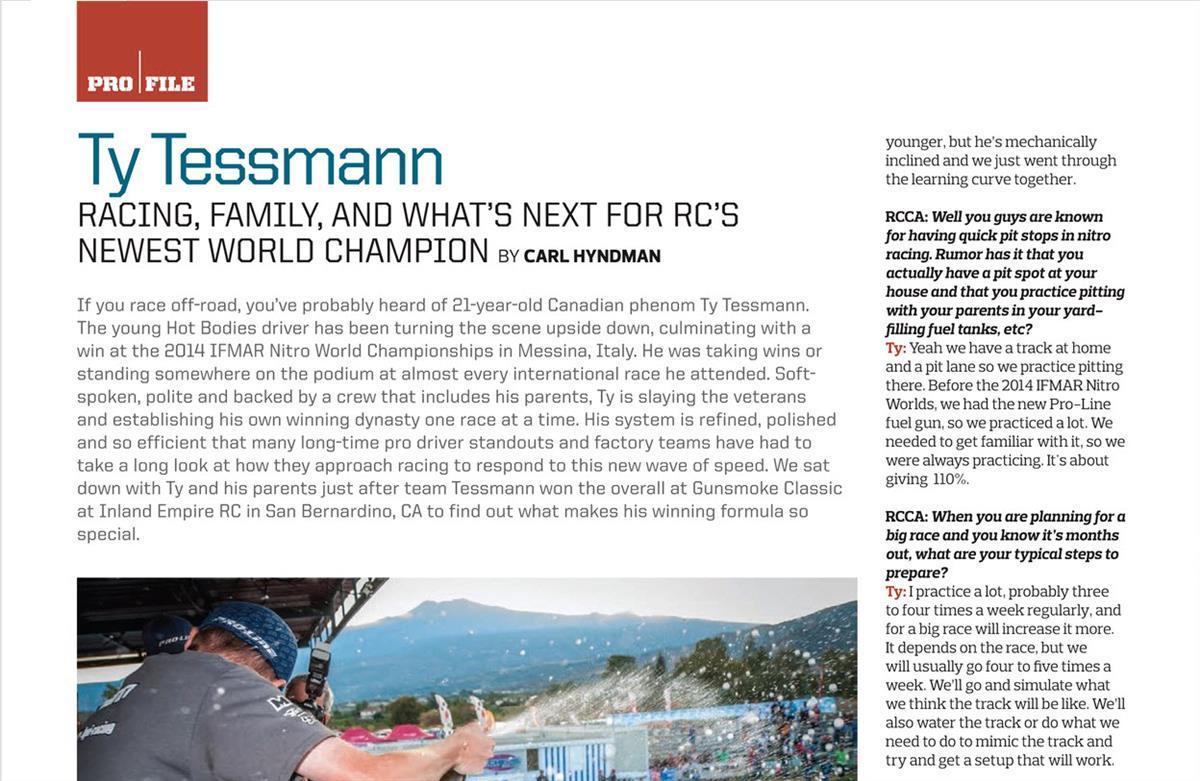 Ty Tessmann Profile 1