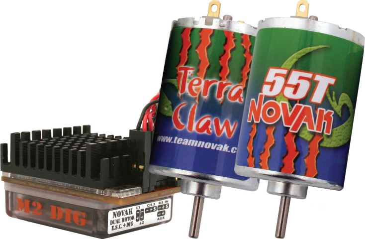 Novak M2 Dig Adds New Functionality & Motor Combo