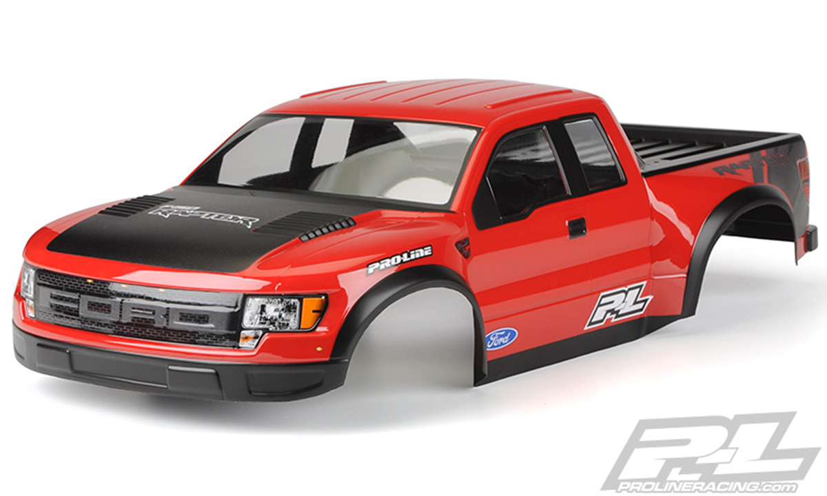 Pro-Line F-150 SVT Raptor painted trimmed
