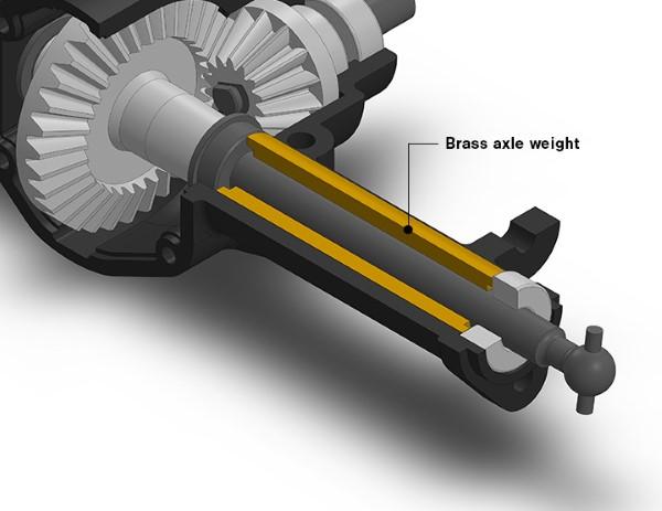Gmade Brass Axle Weight