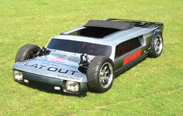 Coolest RC car ever flatout