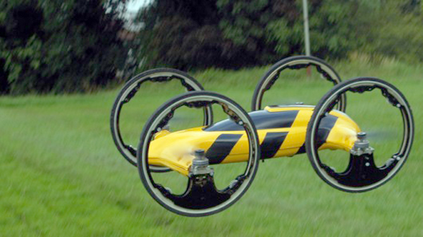 Coolest RC car ever quad copter