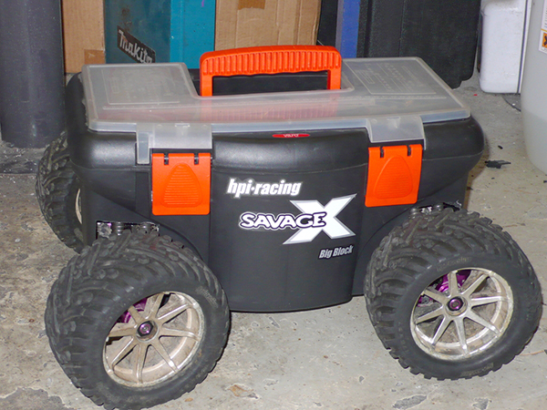 Coolest RC car ever toolbox