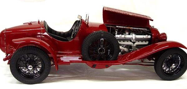 1931 Alfa Romeo 8C 2300 Monza $65,000 model