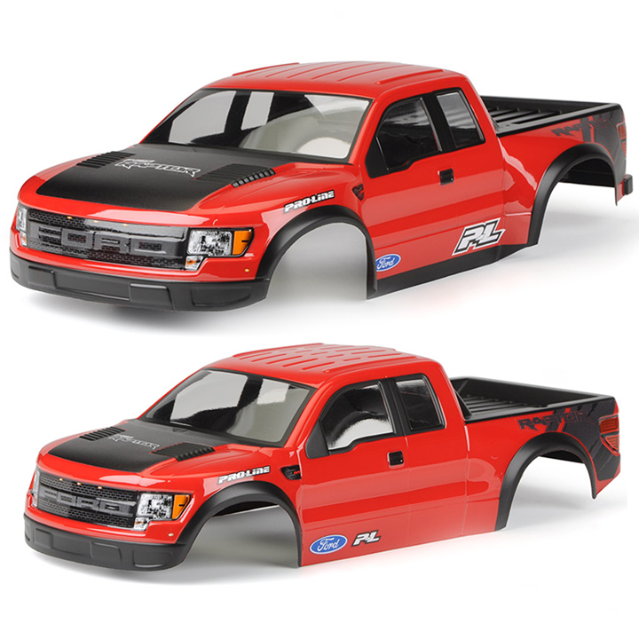 Pro-Line Now Has Pre-Painted & Trimmed Ford Raptors for Stampede & Short-Course