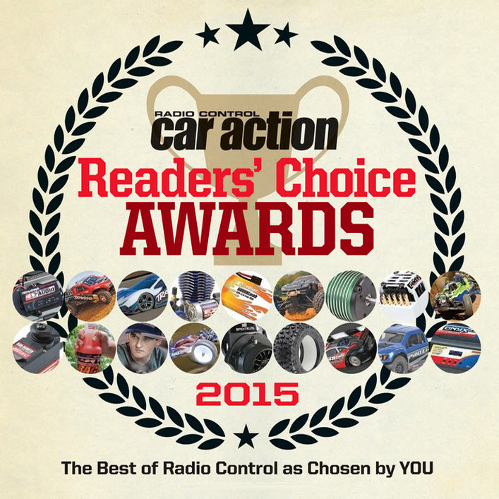 2015 RC Car Action Readers' Choice Awards