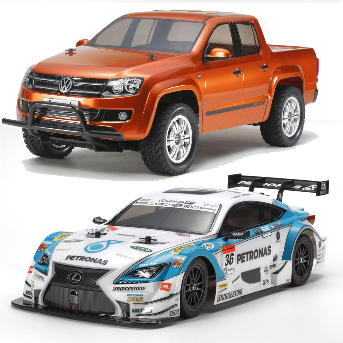 Tamiya Announces New VW Amarok, Petronas Tom's RC F, and Limited Edition DB01RRR Kits