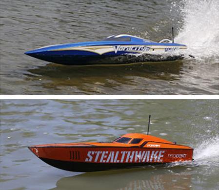 Pro Boat Announces Voracity-E and Stealthwake RTRs