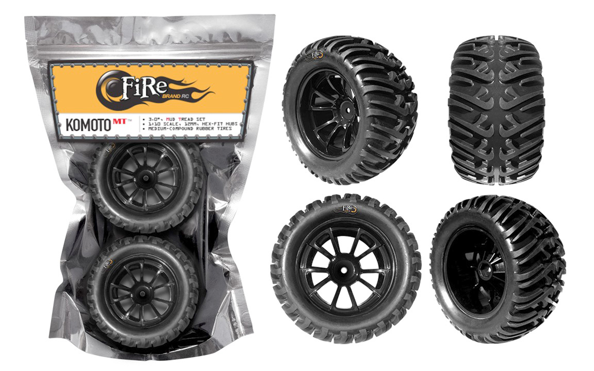 FireBrand RC The Judge Body and Komoto Tires - RC Car Action