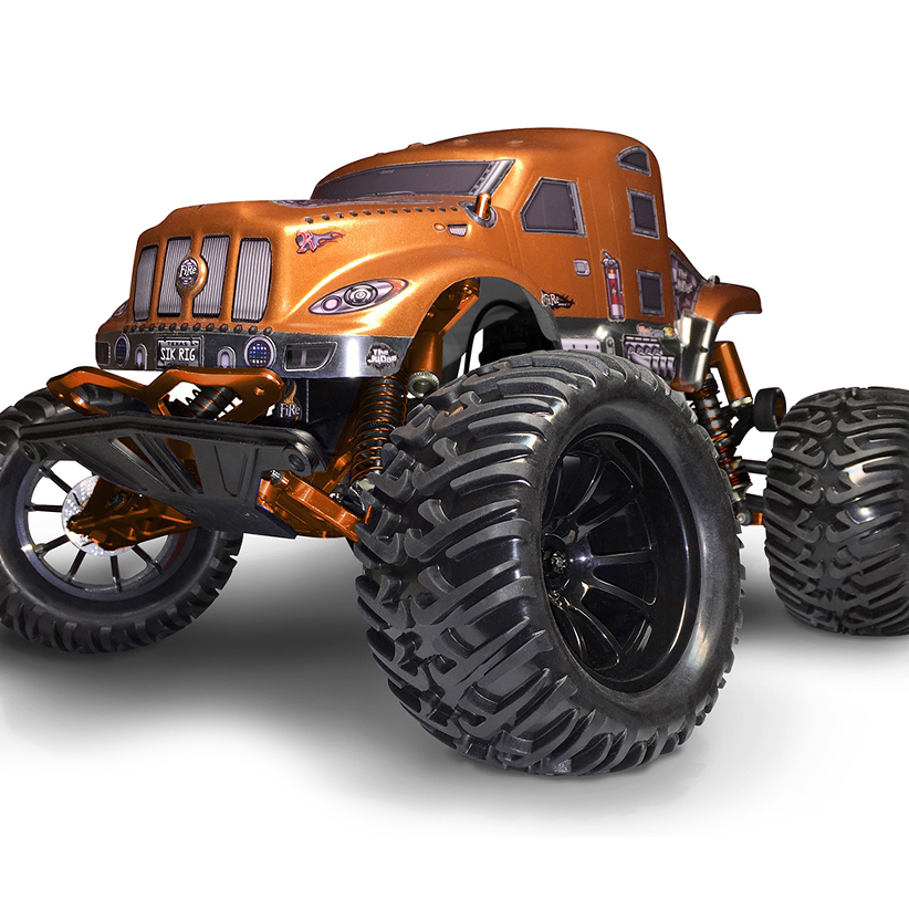 FireBrand RC The Judge Body and Komoto Tires