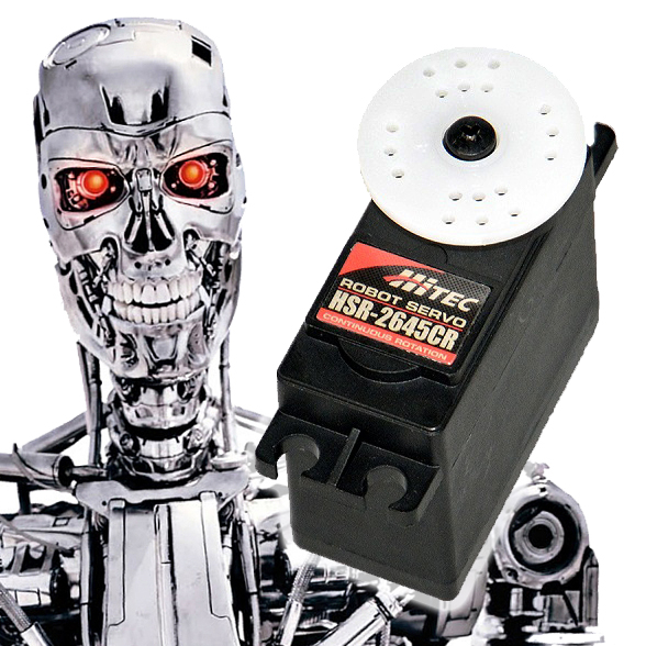 What Can You Do With Hitec's New Robo-Servo?