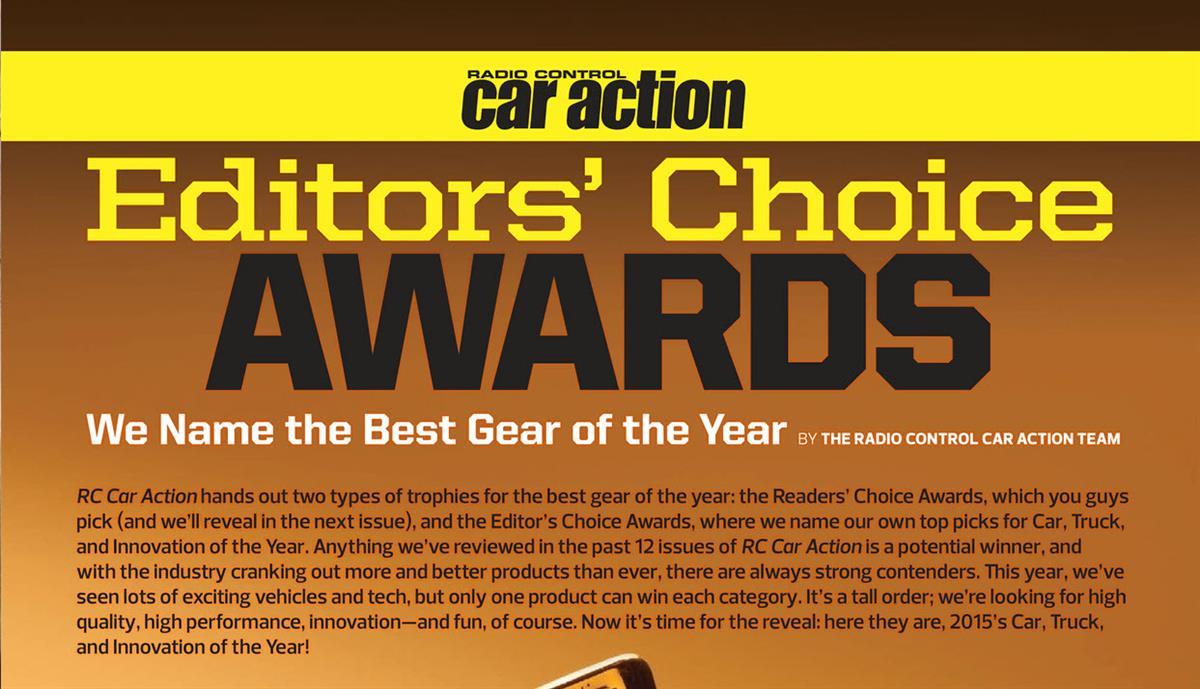 RC Car Action Editor's Choice Awards
