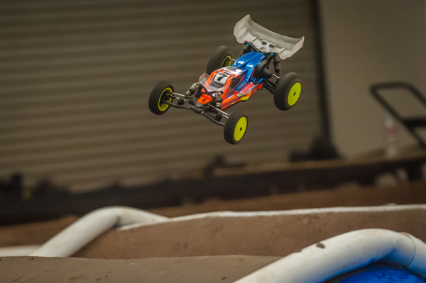 TLR's Dakotah Phend is one of many divers using the new front wing.