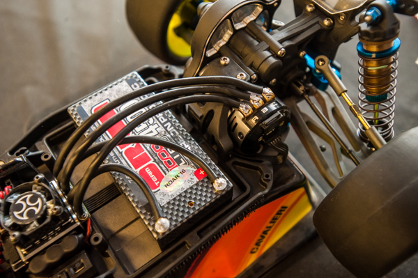The buggy is equipped with Team Orion power that included a 7.5T motor.