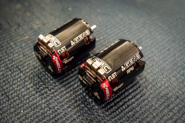 The new Tekin Gen3 stock 17.5T stock motors come in two versions; a standard and rpm version.