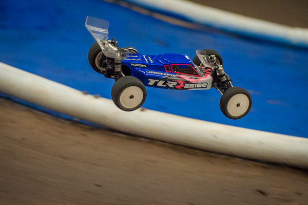 Ryan Maifield drove his TLR 22 2.0 from its TQ spot all the way to the winners circle with effortless lines.