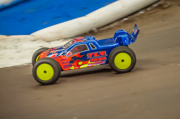Dakotah Phend has been showing good form, but really out it together in Mod Stadium Trcuk and now sits TQ.