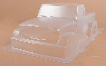 RC4WD Expedition Clear Body Set