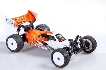 Serpent Spyder SRX4 Carbon Fiber Chassis 4WD 1/10 Off-Road Buggy