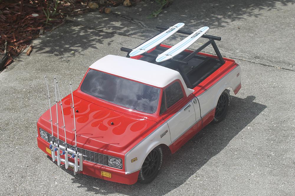 Traxxas Slash 4x4, JConcepts, On Road, Surf truck, fishing, RC, Readers Ride