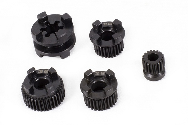 Axial Yeti Transmission 2-Speed HiLo Components (3)
