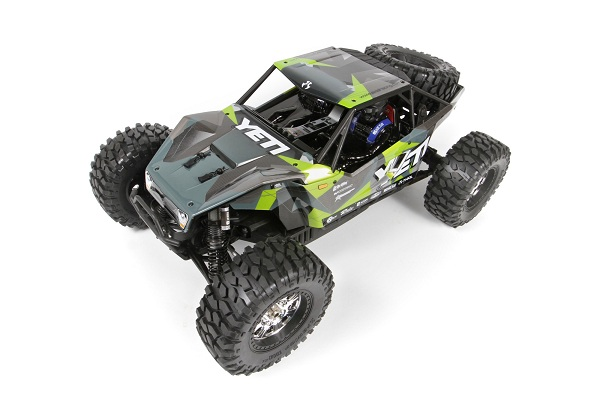 Axial Yeti Y-480 1_8 Green GeoCamo Pre-Painted Body (1)