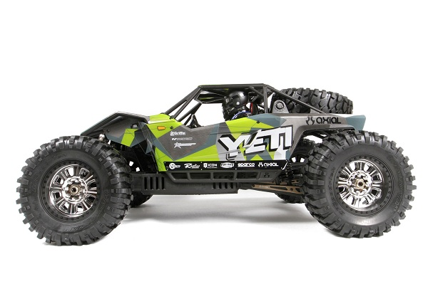 Axial Yeti Y-480 1_8 Green GeoCamo Pre-Painted Body (5)