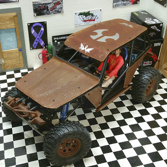 Aaron Bailey's Real-Rust Rat Wraith [Reader's Ride]