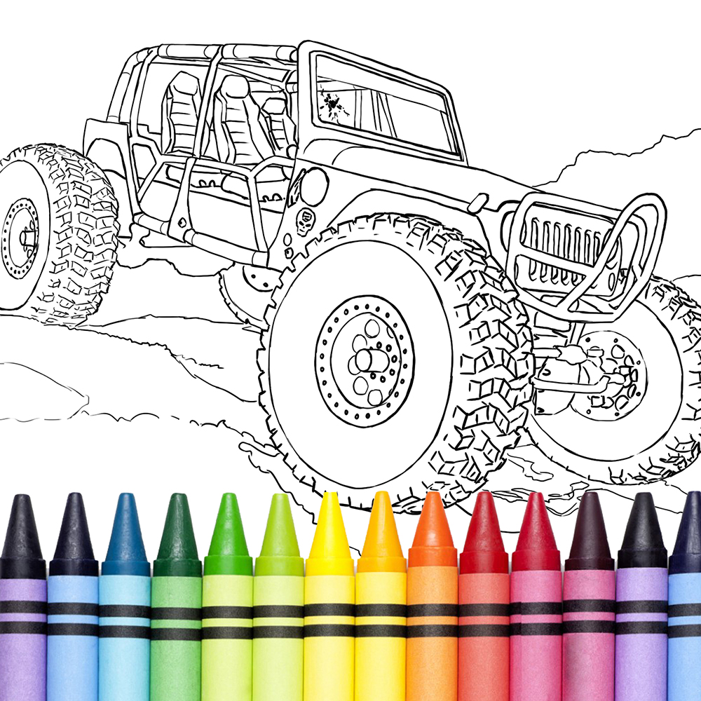 Support RC 4 A Cure Download This Cool PDF Coloring Book