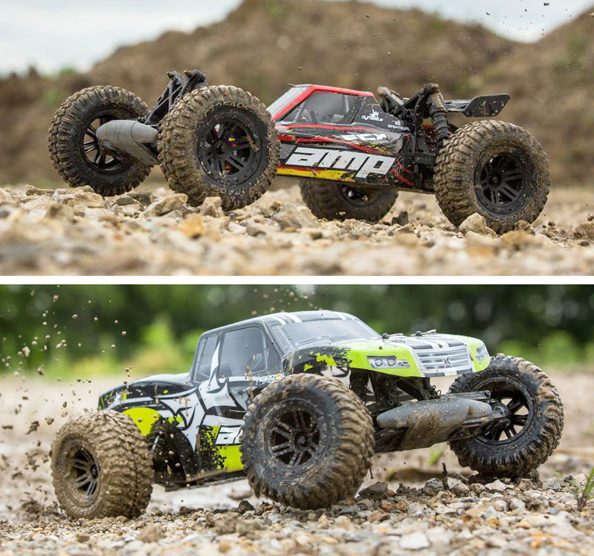 ECX Amp buggy truck action